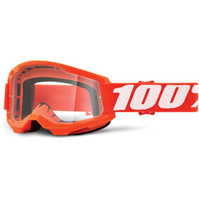 100% Strata Anti-Fog Goggles Gen2 orange/clear
